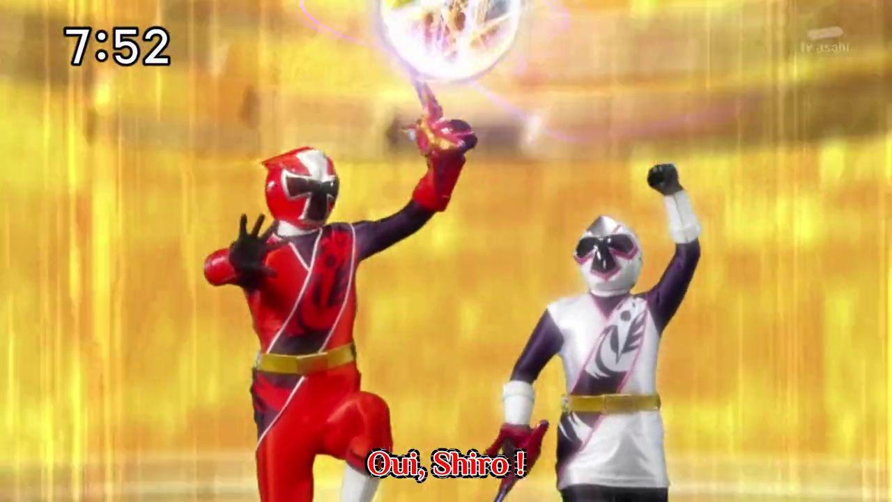 Shuriken sentai ninninger facebook episode 12 - Release checklist